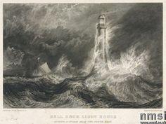 Bell Rock Lighthouse, Scotland, c 1811.