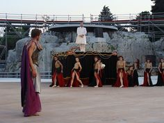 Image result for greek theatre sets
