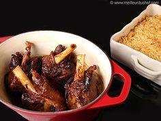 Souris d'agneau rôties et gratin de macaroni - Meilleur du Chef