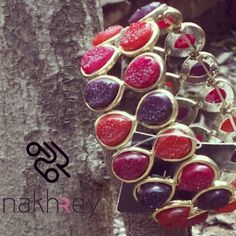 Wear this bright colour bracelet with a dull colour dress. #nakhrey#cuff#colour#color#style#fashion#like#love#instalike#instalove#instafollow#jewellery#jewelry