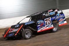 Terry Phillips Wins His Third IMCA Modified Duel in the Desert at The Dirt Track at Las Vegas Motor Speedway (Photo credit: Jeff Speer/Las Vegas Motor Speedway).