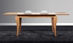 Stół BONA z rozsuwanym blatem - z litego drewna - The Beds