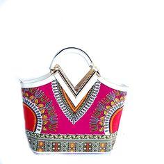 Dashiki African print Elegant Modern Fashion Handbag - Zabba Designs African…