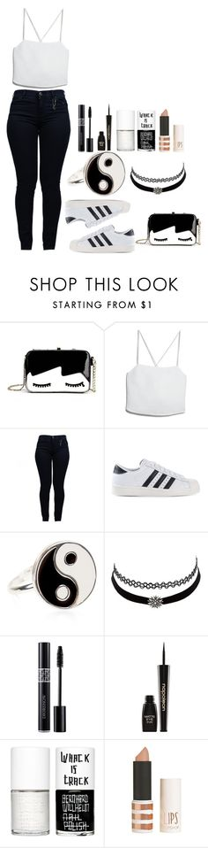 """My names blurry face and I care what you think"" by tiffanymejia ❤ liked on Polyvore featuring MANGO, Armani Jeans, adidas Originals, Accessorize, Charlotte Russe, Napoleon Perdis, Uslu Airlines and Topshop"