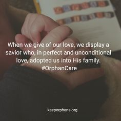 153 Best Orphan Care Quotes Images On Pinterest Care Quotes Goa