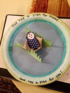 Baby Moses craft-use wording (no site)