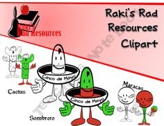 Cinco de Mayo Resources , Clipart