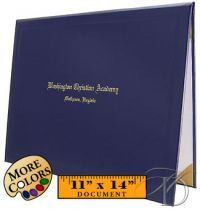 Black cover shown with Old English font   HomeschoolDiploma.com