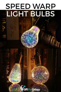 Speed Warp Light Bulbs // Unique Innovative Awesome Lightshow Show Light Shower Burst Star Stars Starlight Galaxy Interstellar Travel Light Speed Break The Light Barrier Streak Lines Particles Ray Rays Physics Astronomy Doomsday Flying Warp Speed Time Travel Lighting // found on GiftTheGalaxy.com