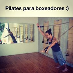 """@inspirahpilates's photo: """"#Pilates para boxeadores :)"""""""