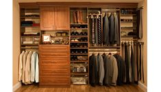What a gentleman's wardrobe should look like.