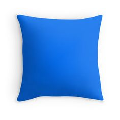 Brandeis Blue - Colorful Home Decor Ideas ! Throw Pillows - Duvet Covers - Mugs - Travel Mugs - Wall Tapestries - Clocks -Acrylic Blocks and so much more ! Find the perfect colors for your Home: Makeitcolorful.redbubble.com