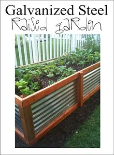 Galvanized Steel Raised Garden
