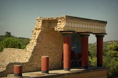 Knossos, Crete, Greece. I have officially been here :)