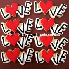 Love decorated cookies.