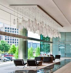 Soft Motion project by Wimberley Glassworks Commercial Office Space, Office Space Design, Conceptual Design, Light Architecture, Lighting Design, Valance Curtains, Granite, Interior, Projects