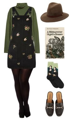 """""""Olive"""" by jeerios ❤ liked on Polyvore featuring H&M, City Chic, HOT SOX, Topshop, rag & bone and Bamboo"""