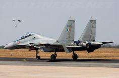 An Indian Air Force Sukhoi Su-30MKI.