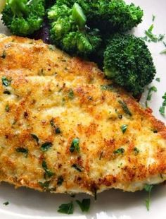Baked Parmesan Garlic Chicken  1/2 cup grated Parmesan cheese 1 package Good Seasons Italian Dressing mix 1/2 teaspoon garlic powder 1 cup milk 6 boneless skinless chicken breast halves Sift together the dry spices and stir milk in. Pour over chicken and bake.