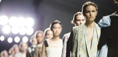 The fashion experts at Lux Fix talk us through what looks we saw at London Fashion Week SS15 and how we can wear them off the catwalk. Eudon Choi SS15 (Daniel Sims, British Fashion Council)