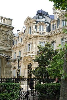 Hôtel de Menier, N° 5 Avenue Van Dyck, VIIIe Arrondissement, Paris