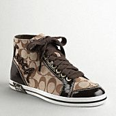 coach high-tops ... need these!!!!!!!!!!