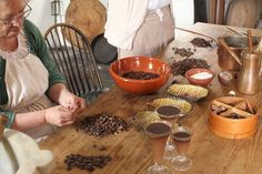 Secrets of the Chocolate Maker, Colonial Williamsburg