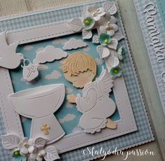 Baby Frame, Baby Cards, Cute Cards, Atc, Frames, Decor, Decoration, Pretty Cards, Frame
