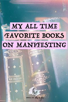 My most recommended books for manifesting and learning about the law of attraction intentions concentrate energy towards your goals. Manifestation Law Of Attraction, Secret Law Of Attraction, Law Of Attraction Quotes, Manifestation Journal, I Love Books, Books To Read, Manifesting Money, Spirituality Books, A Course In Miracles