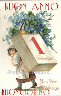 """"""" Thank you so much dear friend 🌼🌸 happy New year & happy January 🎁🎶🎉🎊🎄"""" Noel Christmas, Merry Christmas And Happy New Year, Vintage Christmas Cards, Vintage Cards, Vintage Postcards, Xmas, New Year Wishes, New Year Greetings, New Year Card"""