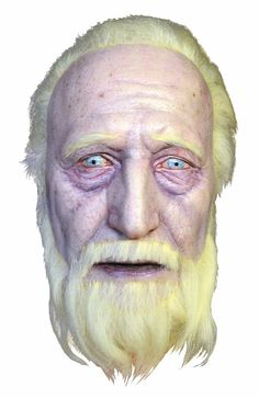 Walking Dead Hershal Severed Head Latex Prop MATTAMC122