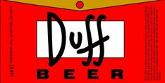 Century Fox Decides to market The Simpsons Duff Beer Bolo Simpsons, Simpsons Simpsons, Simpsons Party, Duff Beer, Simpsons Drawings, 21st Century Fox, Burger Restaurant, Gender Party, Gin Lovers