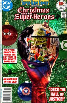 Super-Team Family: The Lost Issues!: Christmas With The Super-Heroes 2014