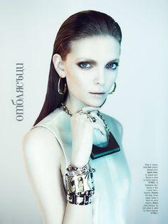 Nora Shopova for Amica Magazine
