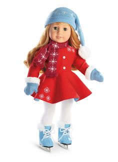 Maryellen's Ice Skating Outfit & Accessories