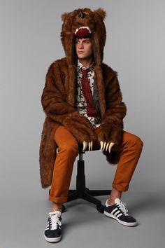Workaholics Bear Coat  #UrbanOutfitters