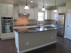 Cinco Ranch | Katy TX New Homes | Pulte Homes    Dream Kitchen, perfect size, double ovens, gorgeous island. I would cook all the time!