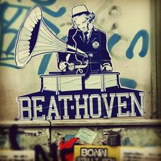 The Dj plays some Beat-Hoven