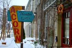 Acorn Theater, by Life Through Two Lenses Photography ~    Three Oaks, Michigan ~