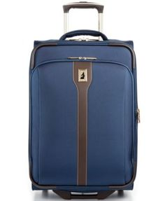 """London Fog Westminster 21"""" Rolling Carry-On Suitcase"""