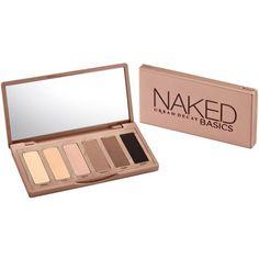Naked Basics eye shadow palette found on Polyvore