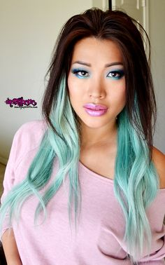 Black Mermaid hair | hair i have been feeling very mermaidy so i thought i would channel my ...