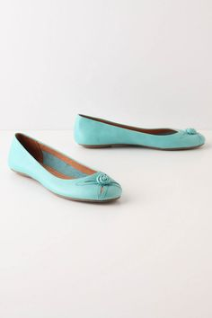 anthro turquoise sweetbriar skimmers. so, so so precious. so, so so expensive.