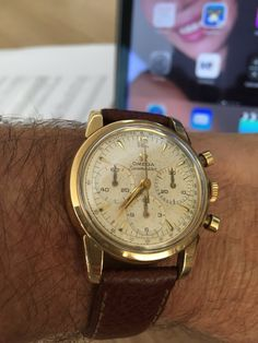 Vintage OMEGA Seamaster Chronograph Calibre 321 In Gold-Cap - https://omegaforums.net