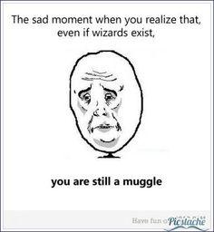 Being a Muggle