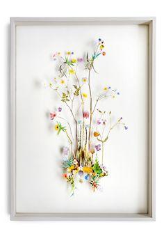 Flower construction #21, by Anne Ten Donkelaar