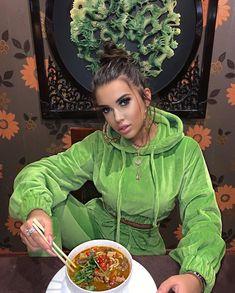 "37.6k aprecieri, 102 comentarii - Volos Andra (@andravolos) pe Instagram: ""Velvet vibes & spicy noodles at 🥢@templulsoarelui1995"" My Idol, Bomber Jacket, Velvet, Casual, Noodles, Spicy, Instagram, Dresses, Fashion"