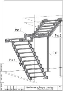 Discover thousands of images about Twin kosour - ABS techno: Treppen, Türen und Parkett in Jekaterinburg House Staircase, Loft Stairs, Staircase Railings, Modern Staircase, Staircase Ideas, 4 Bedroom House Designs, Home Stairs Design, Interior Stairs, Framing Construction