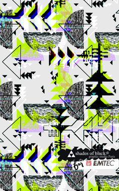 Mlle Eugé // Shades of black graphic studio for EMTEC, printed USB flash drive www.shadesofblack.fr