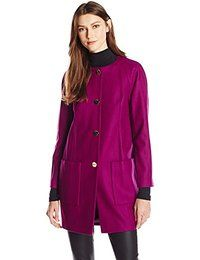 Ted Baker Women's Mawd Patch Pocket Cocoon Coat $378.19 - $519.00 Prime